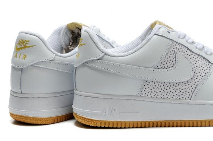 purchase cheap 7c4dc f994a ... Mens Nike Air Force 1 07 Perf White Gum ...