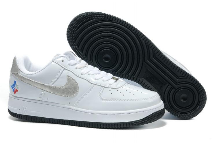 save off de97d c4d17 Mens Nike Air Force 1 25th Low Shoes Hornskin White