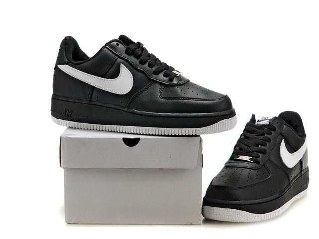 magasin air max - Mens Nike Air Force 1 Low Black White [3447] - $62.60 : Nike Air ...