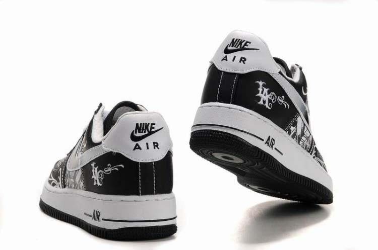 official photos edcf4 5e782 Mens Nike Air Force 1 Mr Cartoon Black White [2570] - $66.28 ...