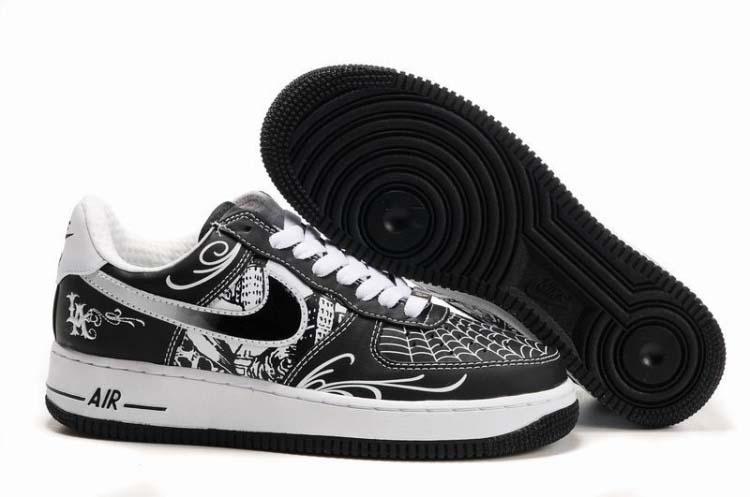 new arrivals 47861 d60b0 Mens Nike Air Force 1 Mr Cartoon Black White [2570] - $66.28 : Nike ...