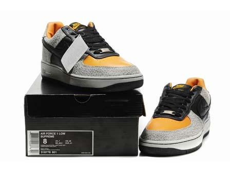 watch ea9b8 22f38 Mens Nike Air Force 1 Supreme 07 Safari Edition ...